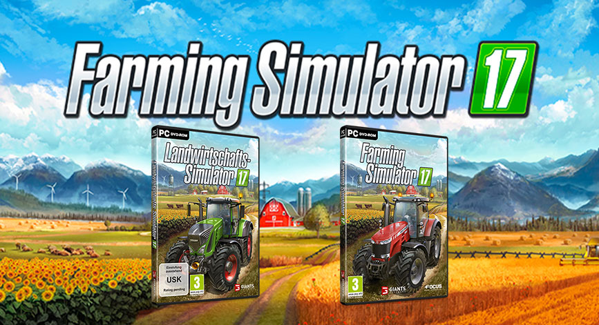 Farming Simulator 17 Download Crack Free + Torrent