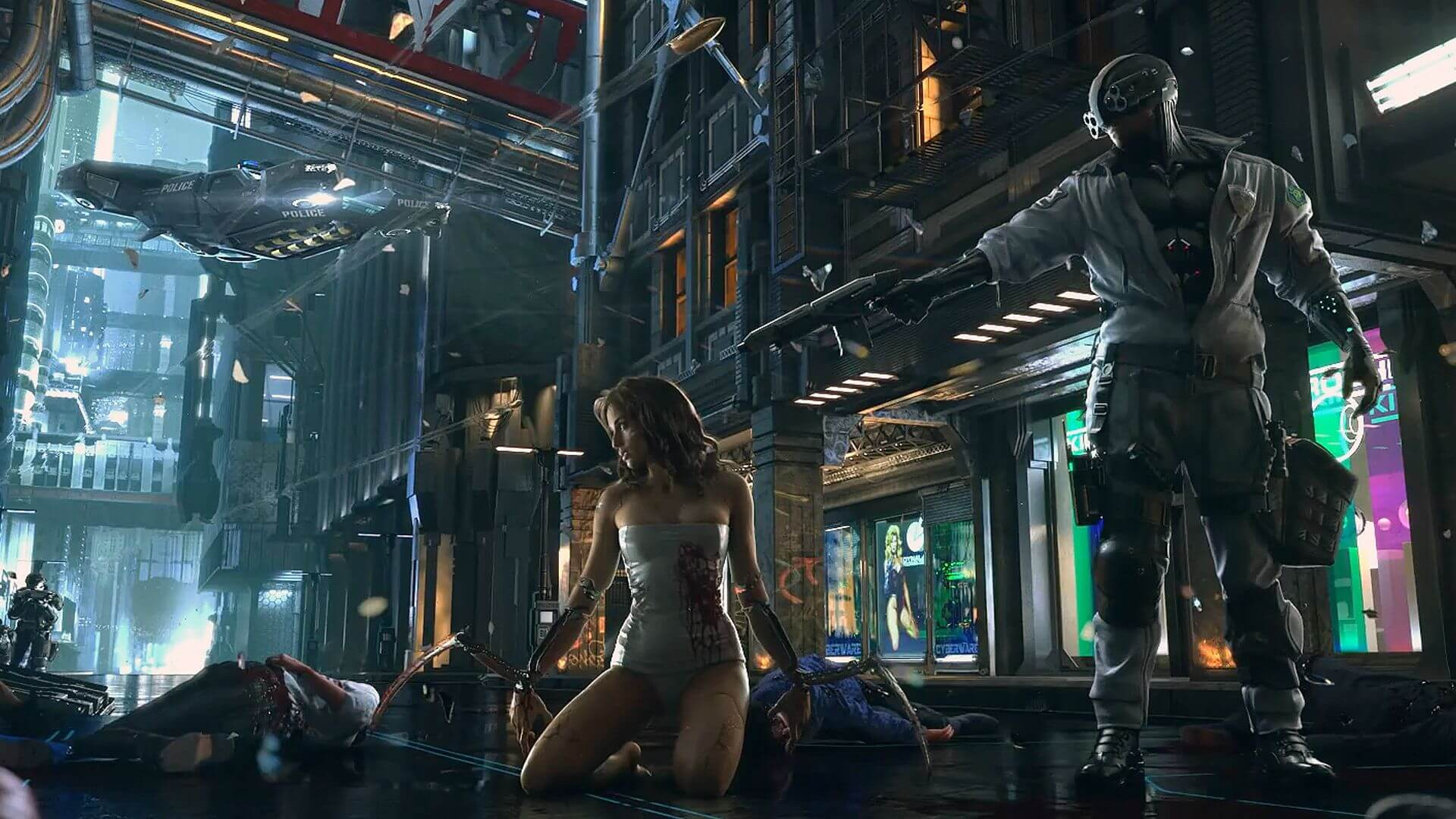 Cyberpunk 2077 download free