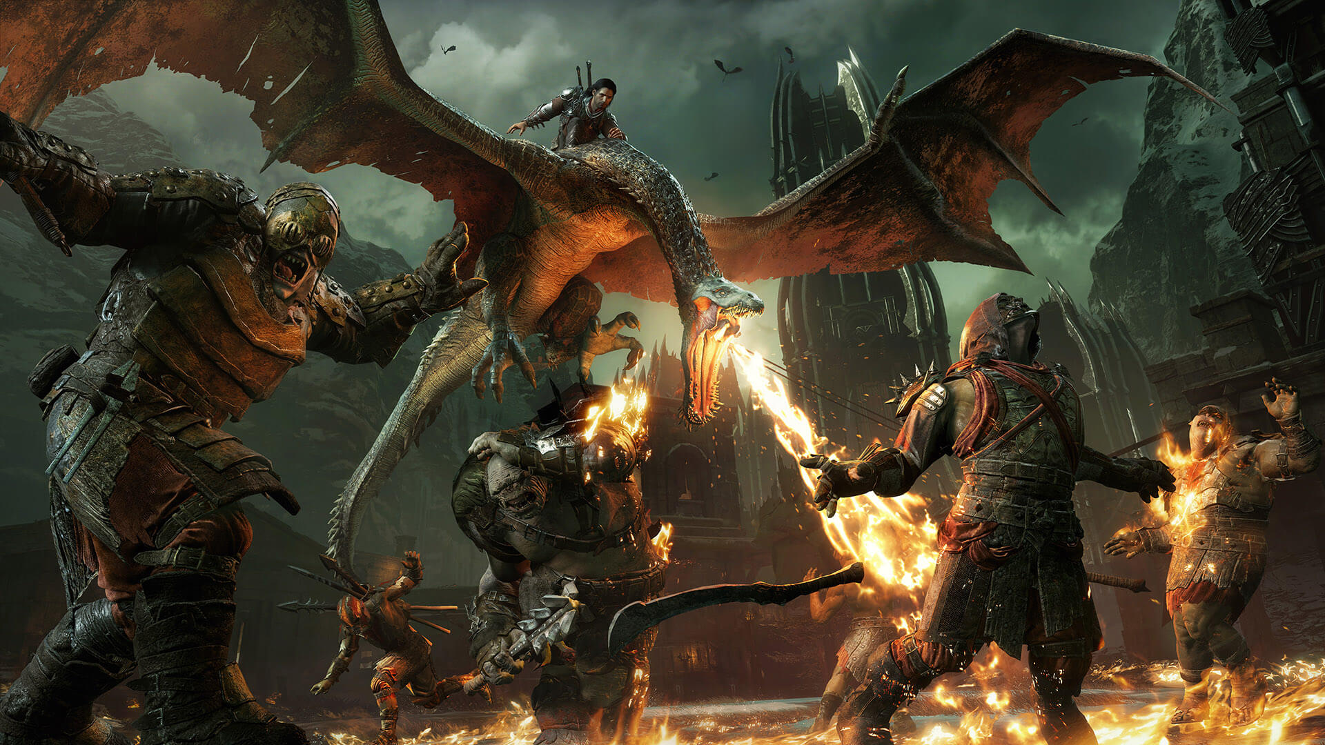 Middle Earth Shadow of War download free